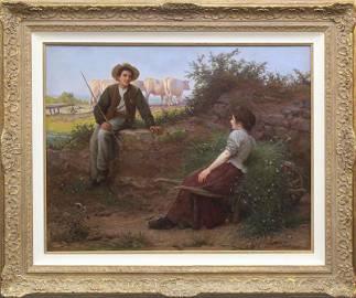 Camille Bellanger (1853-1923) French
