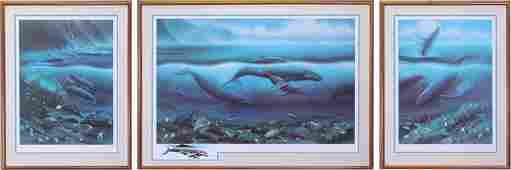 Robert Wyland (b. 1956) California Hawaii