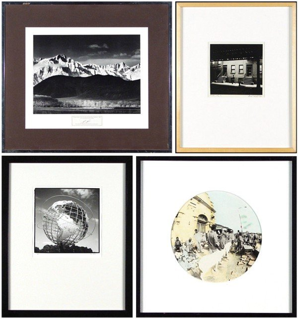 1: Ansel Adams; Bill Witt; Lisa Baun & another (four)