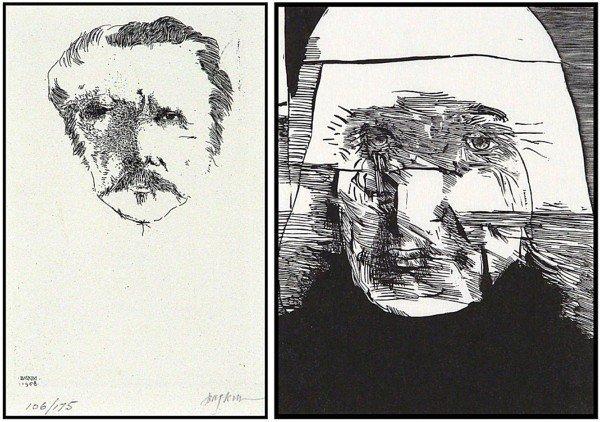 15: Leonard Baskin (1922-2000) American (two)