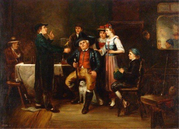 20: Carl Ludwig Becker (1820-1900) German