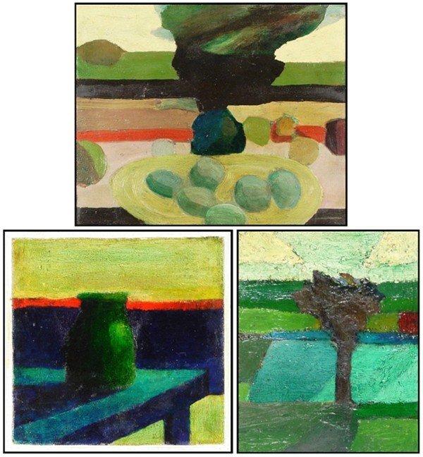 135: Edgar Hatten (20th Century) American (three)