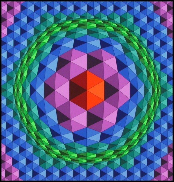 278: Victor Vasarely (1908-1997) Hungarian