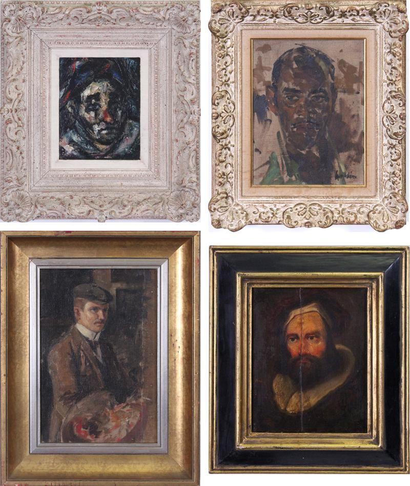 Portraits of Men  (four)