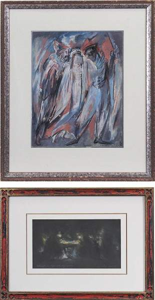 Ida Abramovitch (1898-) Californian & Abraham Goldberg