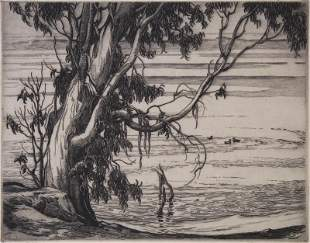 Cornelius Botke (1887-1954) Californian