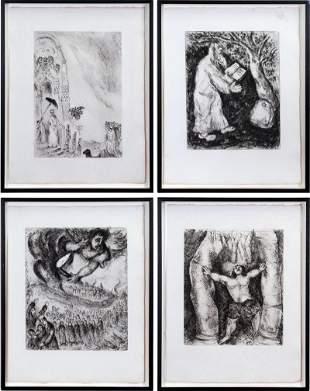 Marc Chagall (1887-1985) Russian/ French (four)