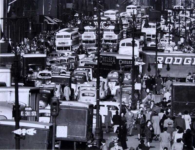 Andreas Bernhard Feininger (1906-1999) French New York