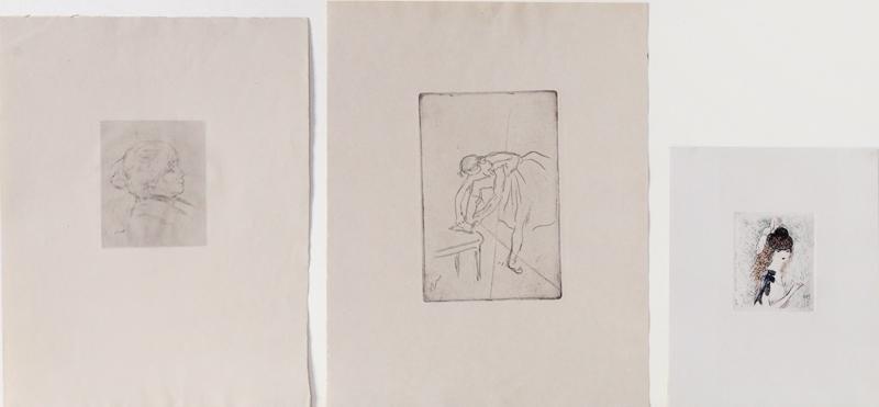 Pierre Auguste Renoir, Edgar Degas & Marie Laurencin