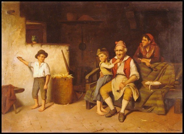 101: S. Folini (18th/19th Century) European