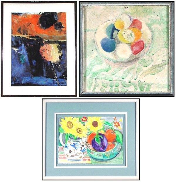 121A: Russa Graeme, Gerald Silva & Rachel Winn Yon (thr