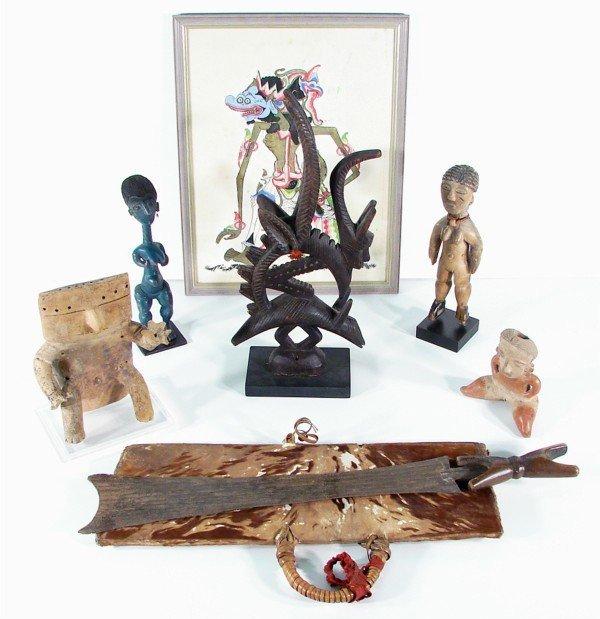 2A: African, Pre-Columbian & Southeast Asian Art (seven