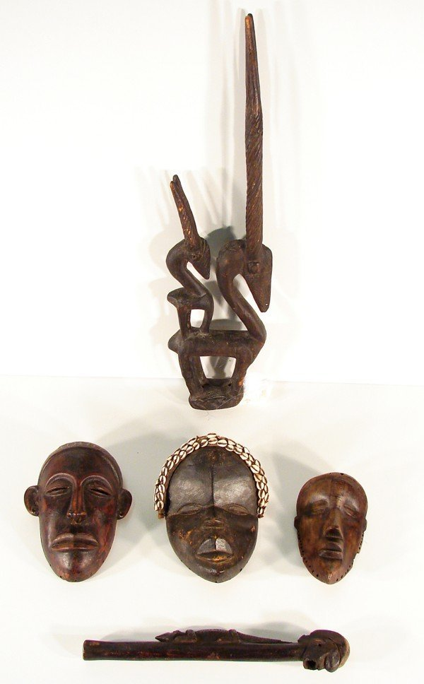 2B: African Art (early 20th Century) (five)