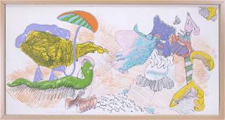 John Altoon (1925-1969) Armenian American