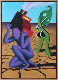 Mark Kostabi (b. 1960) California New York
