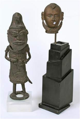 African & Ethnic Sculptures (two)