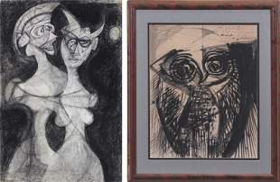 Artists Unidentified (mid-20th Century) (two)