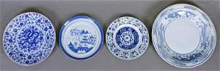 Chinese Blue White Ware Plates 18th 8211 20th