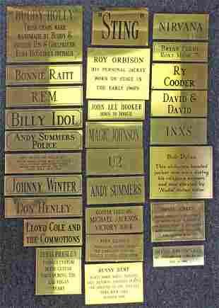 Rock N Roll Memorabilia Hard Rock Placards
