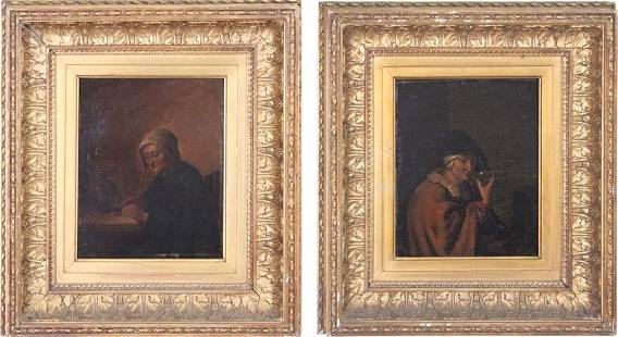 Artists Unidentified (18th/ 19th Century) (two)