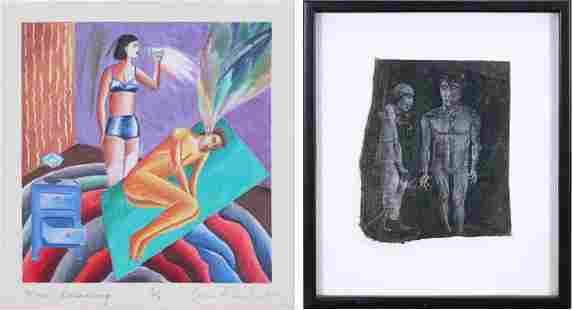 Gina Freschet 20th 21st Century Artist Unidentified