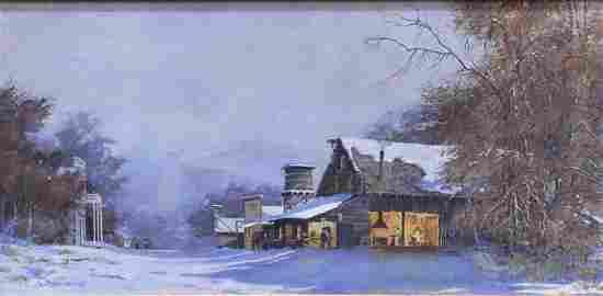 David Halbach (b. 1931) Arizona California