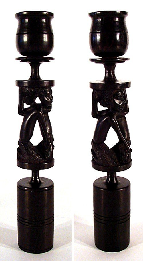 4: African: Tanzanian Decorative Art (two)