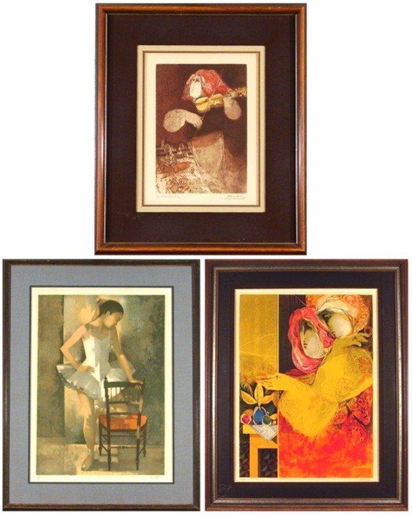9: Sunol Alvar (b. 1935) Spanish & M. Depre (three)