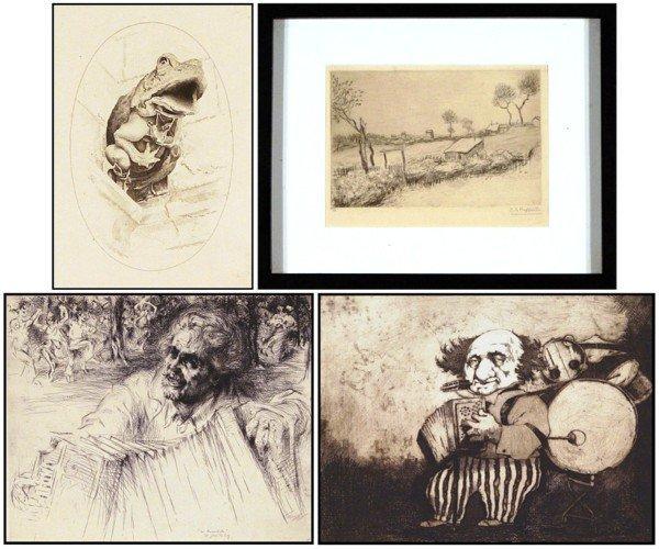 21: John Taylor Arms, Jean Francois Raffaelli, Arthur H