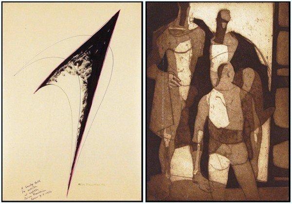 88: Nino Franchina (1912-1988) Italian & George De Groa