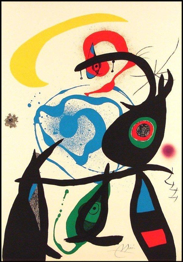 183: Joan Miro (1893-1983) Spanish
