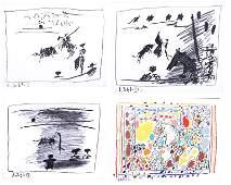 Pablo Picasso (1881-1973) Spanish (four)
