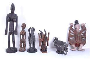 Ethnic Wood Carvings (six)