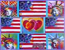 Peter Max b 1937 German American