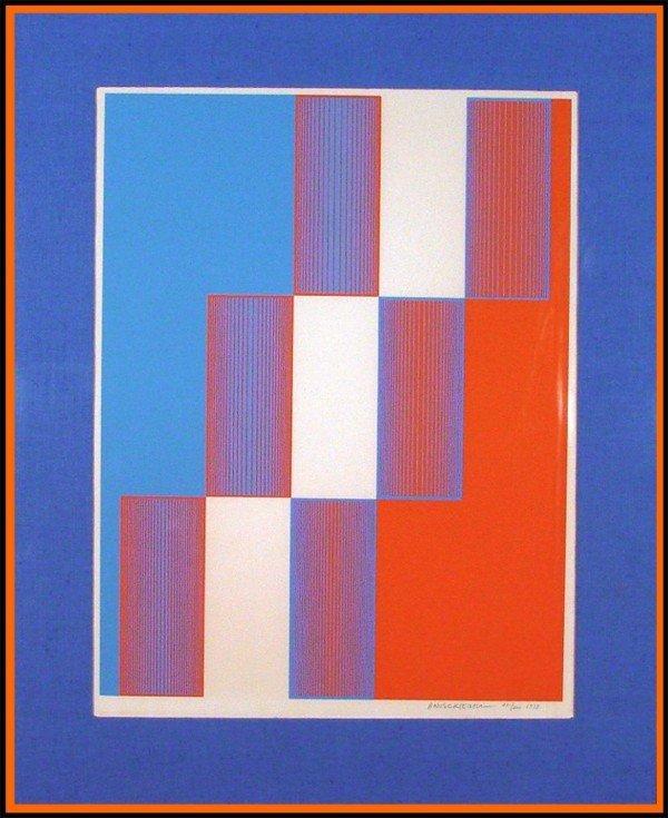 23: Richard Anuszkiewicz (b. 1930) American