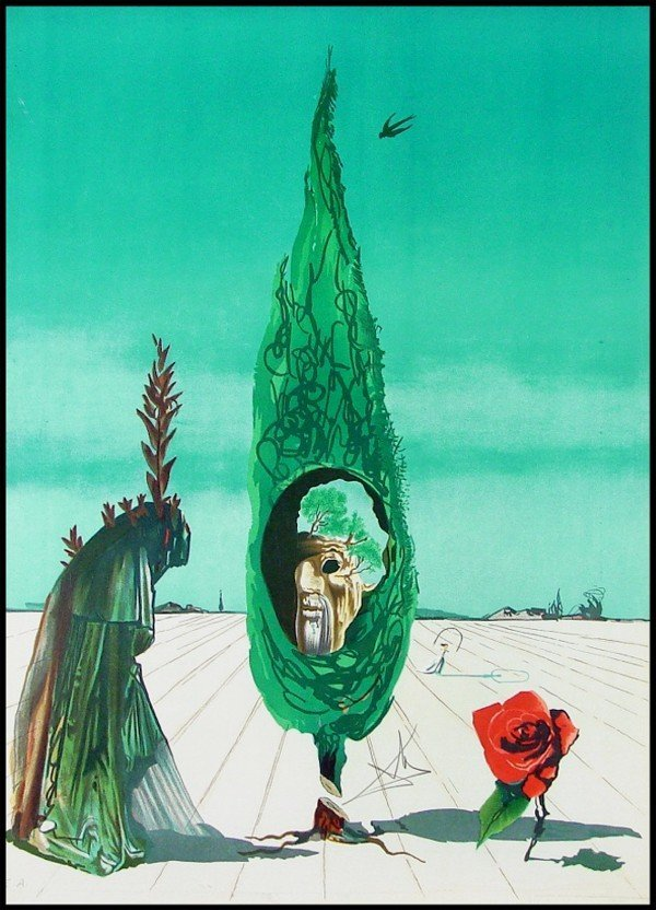 68: Salvador Dali (1904-1989) Spanish