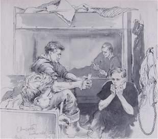 Edgar Ainsworth Illustration Artist (1905-1975) British