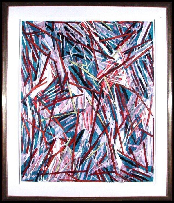 18: Charles Arnoldi (b. 1946) American