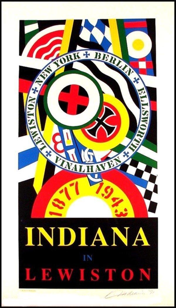 113: Robert Indiana (b. 1928) American