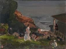 Gjura Stojana (1885-1974) French California