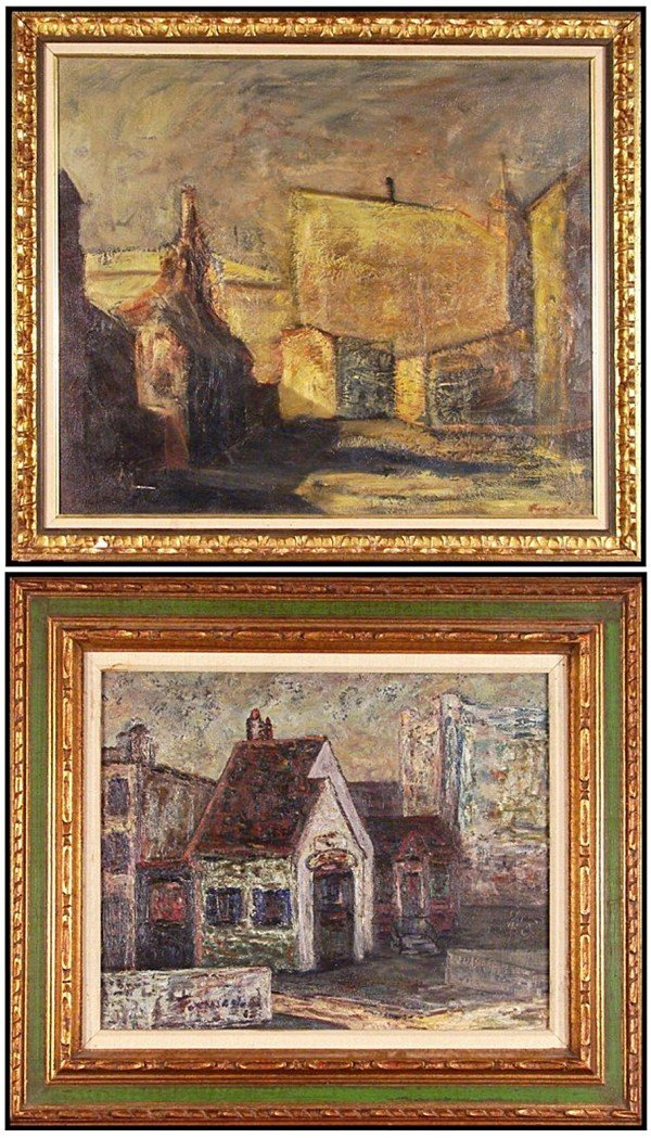 13: American Artists (early 20th Century) (two)