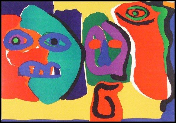 17: Karel Appel (1921-2006) Dutch