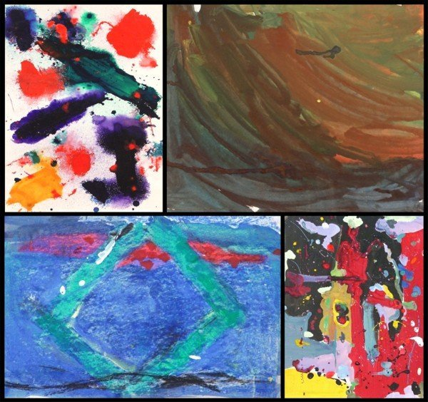 103: From the Sam Francis Collection (ten)