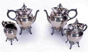 Decorative Items: Meriden & Co. Silver (four)