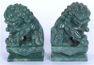 Jade Carvings (two)