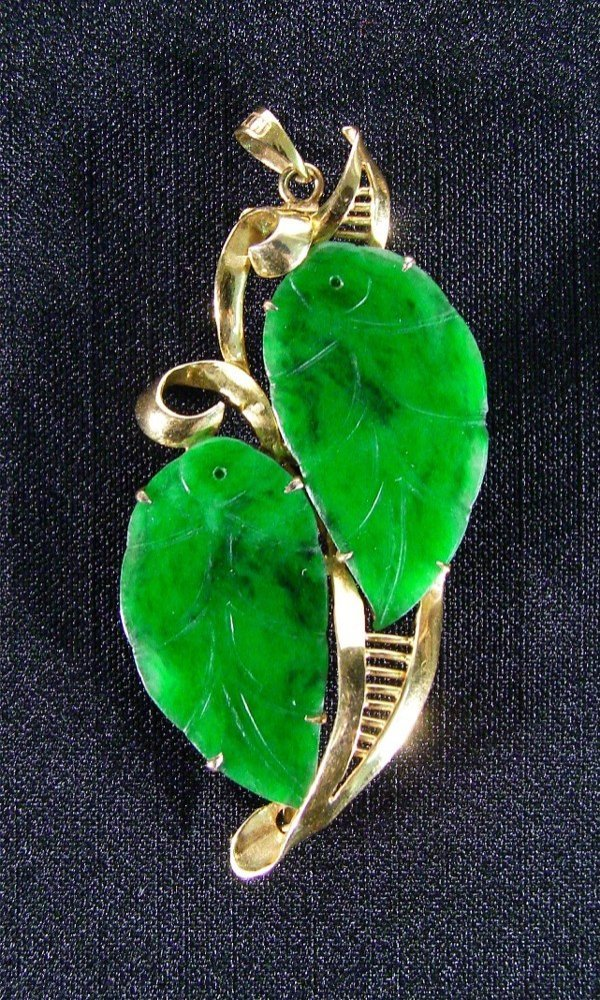 15: Asian Antique: Jade Jewelry (1940-1945) Chinese