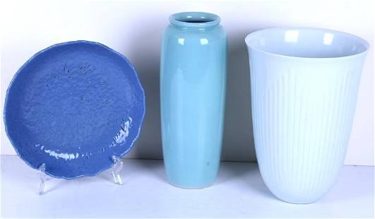 Asian Pottery (20th Century) (three)