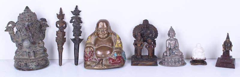 Asian Small Statue group (eight)