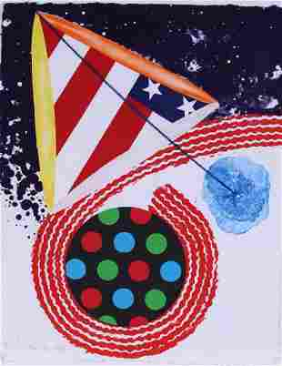 James Rosenquist (1933-2017) New York