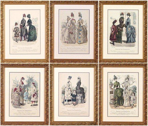 1: 19th Century French Prints (six)
